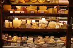 Cheese shop in Paris.