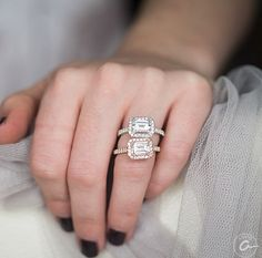 A.JAFFE Engagement Ring