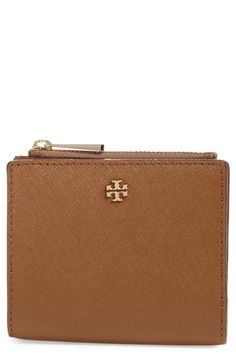 4443c39991b9 Tory Burch  Mini Robinson  Leather Wallet available at  Nordstrom Small  Wallet