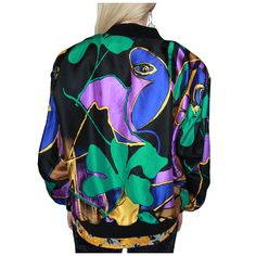 'Picasso Bomber Jacket' back  view