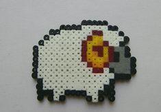 sheep hama beads mini by berserk03.deviantart.com on @DeviantArt