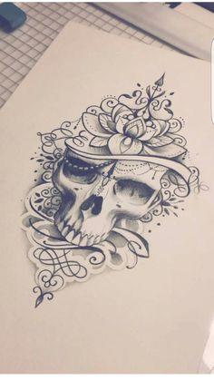 Trendy tattoo frauen oberschenkel ideas tattoo tattoo tattoo tattoo tattoo tattoo tattoo ideas designs ideas ideas in memory of ideas unique.diy tattoo permanent old school sketches tattoos tattoo Trendy Tattoos, Unique Tattoos, Cute Tattoos, Beautiful Tattoos, Body Art Tattoos, Tatoos, Skull Thigh Tattoos, Female Thigh Tattoos, Pretty Skull Tattoos