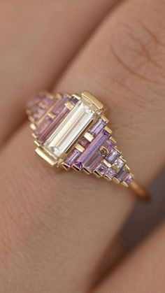 0e3bfbe6fd027 437 Best Rings and things 'Purple Stones' images in 2019 | Gemstone ...