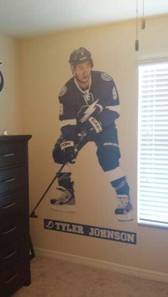 Fatheadz Tyler Johnson in my son's room.