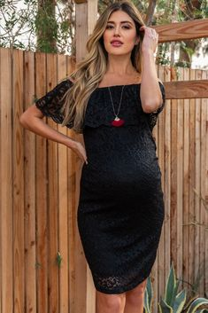 e38b651cfeb37 10 Best Off shoulder maternity dress images   Off shoulder maternity ...