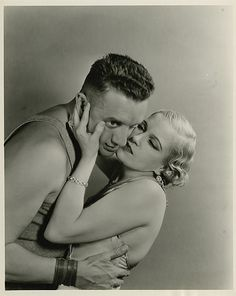 Gorgeous cast portraits from Tod Browning's 'Freaks' (1932) | Henry Victor and Olga Baclanova
