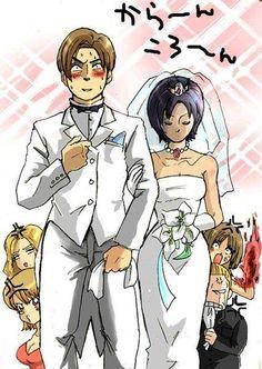 Leon Kennedy, Ada Wong Wedding