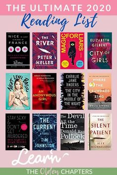2020 Book List: 52 New and Exciting Titles to Read This Year - The Olden Chapters Books To Read In Your Teens, Top Books To Read, Fiction Books To Read, Books To Read Before You Die, Books You Should Read, Books For Fall, Classic Must Read Books, Must Read Classics, Book List Must Read