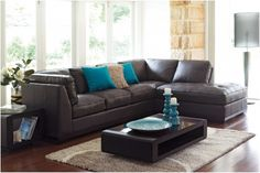 What colors go with brown leather furniture trend home - Brown goes with what color ...