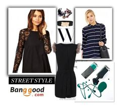 """""""Street style :* :*"""" by malasirena989 ❤ liked on Polyvore featuring Avon, women's clothing, women, female, woman, misses, juniors, BangGood, valentinesday and beatuy"""