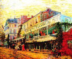 Vincent van Gogh 'The Restaurant de la Sirène at Asnières'