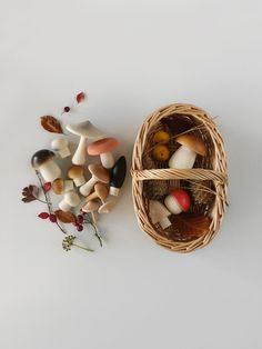 Diy Sensory Board, Deco Champetre, Basket Lighting, Rattan Basket, Wood Toys, Wooden Baby Toys, Wooden Toys For Toddlers, Wooden Toys For Kids, Kids Wood