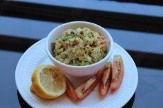 Salmon Salad with Avocado Mayo