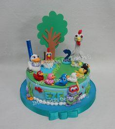 Torta Canciones de la Granja | JMR Tortas Decoradas