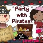 Party with Pirates Literacy and Math Centers  Literacy Centers 1. I Spot It Matey! – student search for cvc words on the pirate posters and then co...
