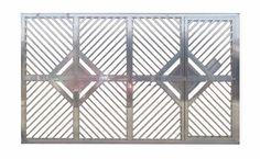 Modelos de portões de alumínio – Preços | Decorando Casas Home Gate Design, Large Gazebo, Gate House, Home Decor, Iron Gate Design, Modern Gates, Wood Gates, Templates, Houses