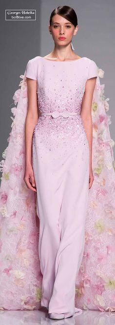 Georges Hobeika Haute Couture Spring 2015