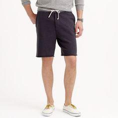 J.Crew - Sweatshort with striped waistband