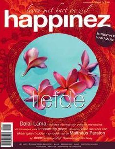 Happinez 2004 - 1 Liefde Over Liefde: Dalai Lama - oosterse wijsheid voor westerse workaholics - vijf massages voor lichaam en geest.