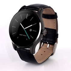 Round Bluetooth Smart Watches Clock Classic Health Metal Smartwatch with Heart Rate Monitor for Android ISO iPhone Phone K88H (32731207798)  SEE MORE  #SuperDeals