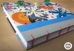 Cuaderno copto    http://artesanio.com/murice-regalos-especiales/cuaderno-copto-color+109967