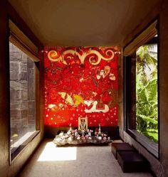 Pooja Room Design Ideas - Pooja Room and Rangoli Designs