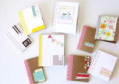 Decorar los cuadernos para la vuelta al cole. | Mil Ideas de Decoración