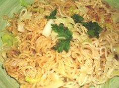 Sesame Noodles With Napa Cabbage from Food.com:   From Vegetarian Times.  Good hot or cold. I use Bragg's Liquid Amino Acids for the soy sauce.  It's a lot lower sodium.