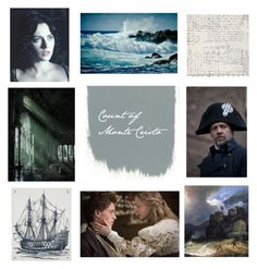 """""""Count of Monte Cristo"""" by oscappa ❤ liked on Polyvore featuring art"""