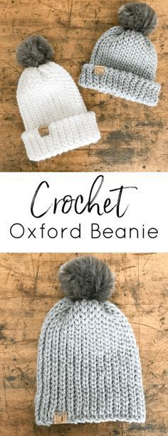 Free Crochet Pattern: Oxford Beanie - Cypress and Wool