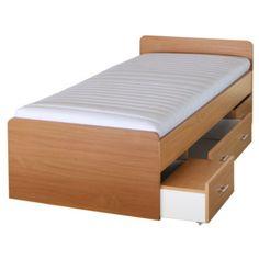 Jednolůžková postel 90 cm Duet 80262 buk -22 Mattress, Bed, Furniture, Home Decor, Decoration Home, Stream Bed, Room Decor, Mattresses, Home Furnishings