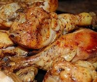 Beer Crockpot Chicken - 4-6 Chicken Breasts, 1 Can of any kind of Beer 1/2 tsp Garlic Powder 1/2 tsp Basil 1/2 tsp Paprika 1/2 tsp Black Pepper 1/2 tsp Kosher Salt *You can use whatever spices you like Put all ingredients into crockpot If frozen cook on high 4-5 hours or low 8-10 If fresh cook on high 3-4 hrs or low 7-8 hours if fresh