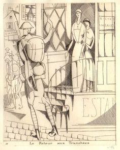 Jean-Emile Laboureur, 1916