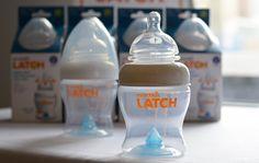 @Munchkin Inc. Inc.'s new LATCH bottle is designed to mimic breastfeeding! #babygear
