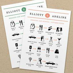 Wedding Planning: Setting the Agenda, FREE e-Book  #wedding #bridal