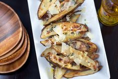 Truffle Oil Potato Wedges - livelovepasta