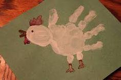 chicken handprint