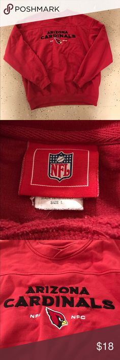 bba288aa60b5 Vintage Cardinals Pullover Vintage NFL brand. Perfect condition. Make an  offer! Shirts
