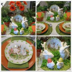 JBigg's Little Pieces: Easter Scape With Rabbits & Eggshttp://jbiggslittlepieces.blogspot.com/2016/03/easter-scape-with-rabbits-eggs.html