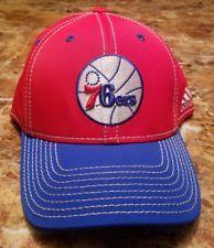 87ecf878ee8ce New Authentic Philadelphia 76ers Adidas NBA Sixers Logo Basketball Cap L    XL