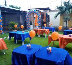 decoracao-de-aniversario-em-caucaia-espaco-amplo Goku Birthday, Naruto Birthday, Nerf Birthday Party, Nerf Party, Dragon Birthday, Ball Birthday, 10th Birthday Parties, Dragon Party, Hot Wheels Birthday