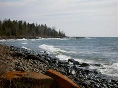 2.2 acres on the North Shore of Lake Superior... I could build a bonfire and sleep under the stars!
