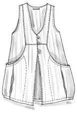 Cotton/linen vest – Weaves – GUDRUN SJÖDÉN