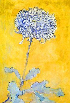 Chrysanthemum. Piet Mondrian 1906