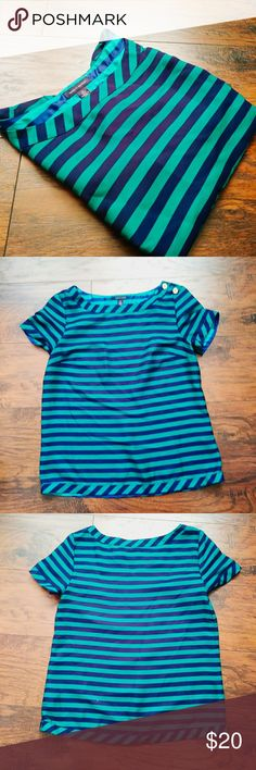 Tommy Hilfiger striped top BUNDLE AND SAVE! Questions? Just ask! Pack with love and care. No trades. Thank You. Open to reasonable offers, try me. Thanks for checking out my closet Tommy Hilfiger Tops