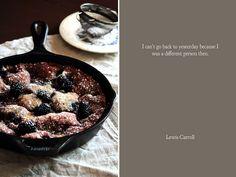 Blackberry Sour Cream Coffee Cake by pastryaffair, via Flickr