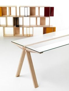 Skim Milk: Traverso Table by Francesco Faccin