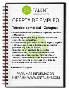 #Técnico #comercial en #Zaragoza