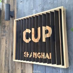 cafe signboard: