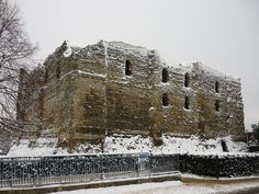 Canterbury Castle, Canterbury, England by Paul Anthony Moore, via Flickr